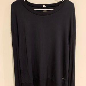 ALO YOGA LS hoodie/shirt